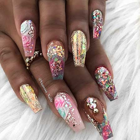 Nail, Art, Ps, Stiletto , Stiletto, Nail