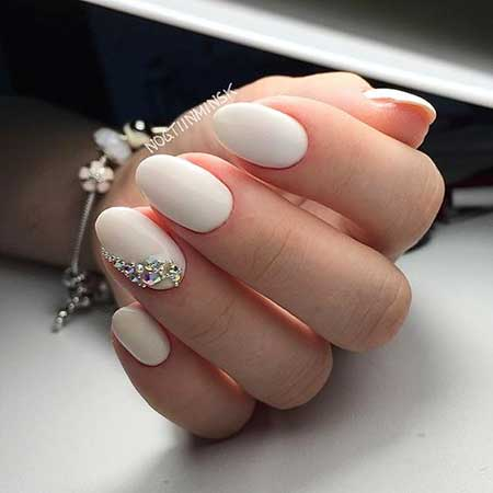 Wedding Manicures, French Manicure, Art, White, Wedding, French, Idea, Gel,