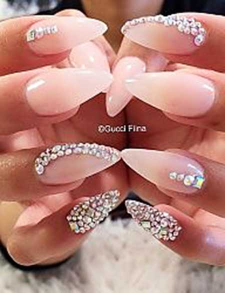 Stiletto Nail, Acrylic Weddingnail, Stiletto, Wedding, Idea, Acrylic, Art,