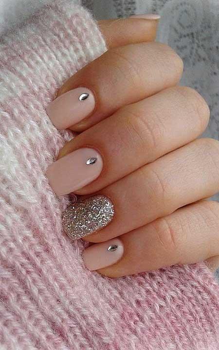 Esign, Pinknail, S, Wedding Winter Pink, Simple, Wedding