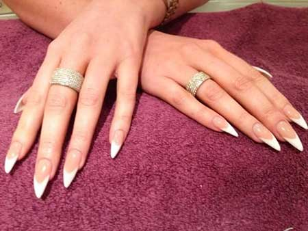 Shellac, French, Acrylics, Manicures, Glitter, Gel, French Manicure
