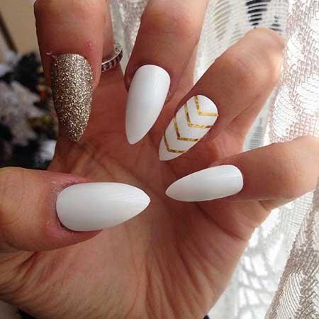 Stilettowhite Nail, Stilettos, Manicures, White