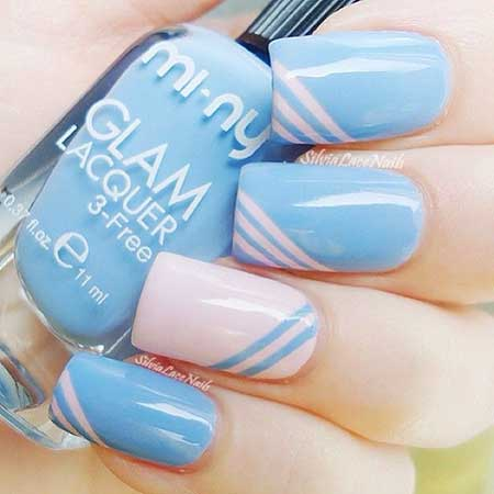 Polish, Nail Polish Blue, Swatch, China Glaze, Blue Simple, China,