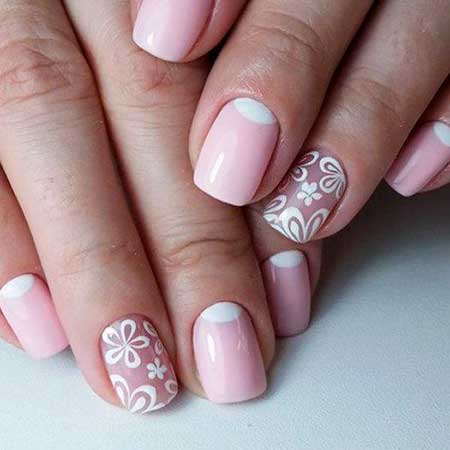 Art, Simple Nail, Manicures, Lacquer, Simple, Idea, Gel