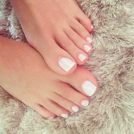 Pink, Pink Nail, Studded Nail, French Manicure, Manicures, Toe