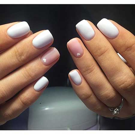Manicures, Polish, Art, White Nail, Nail Polish, White, Hearts
