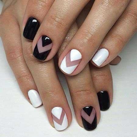 21 Popular White And Black Nail Designs Nail Art Designs 2018