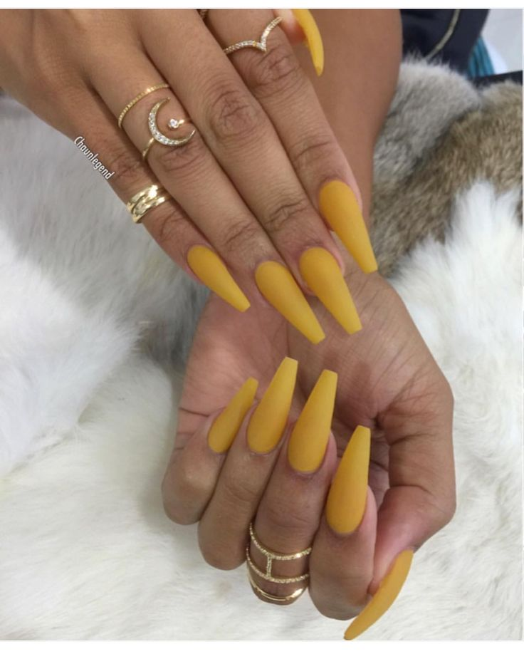 Nail, Matte Nail, Pink Coffin yellow Yellow, Long, Matte, Pink, Coffin, Idea,