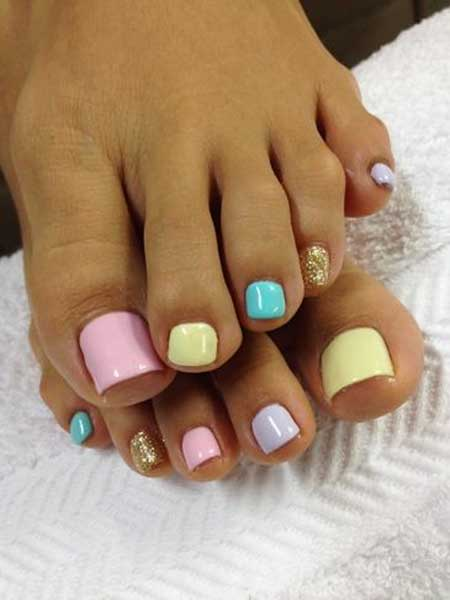 Toe Nail, Toe, Pretty Nail, Pedicures, Easter