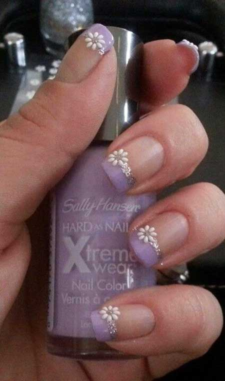 Ails, Weddingglitter, French Manicure, Glitter Nail, Pretty Nail, Eggs, Easter [