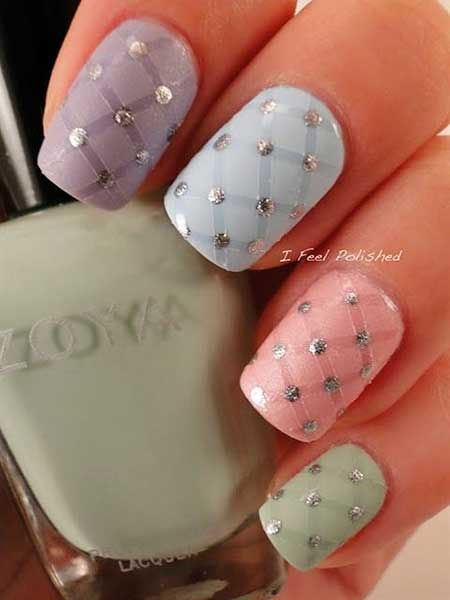 Nail, Art, Wedding Pinkpink, Easter, Wedding, Idea, S
