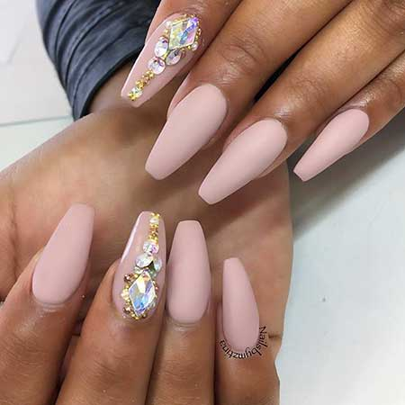22 Cool Rhinestone Designs On Nails Nail Art Designs 2018