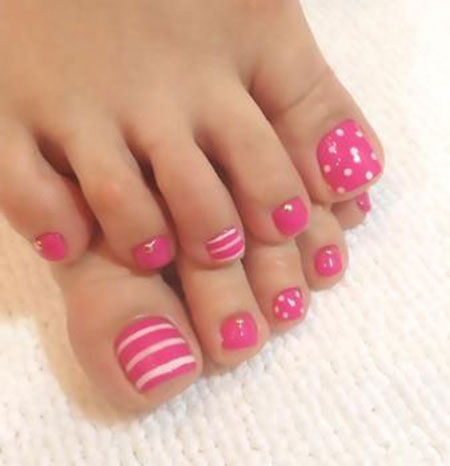 Toe Love Foot Color