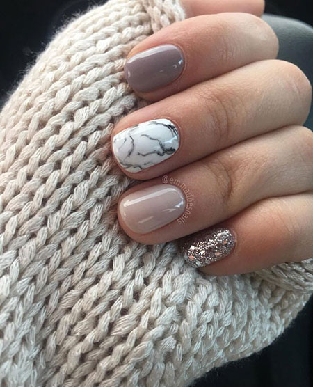 Gel Short Winter Glistening