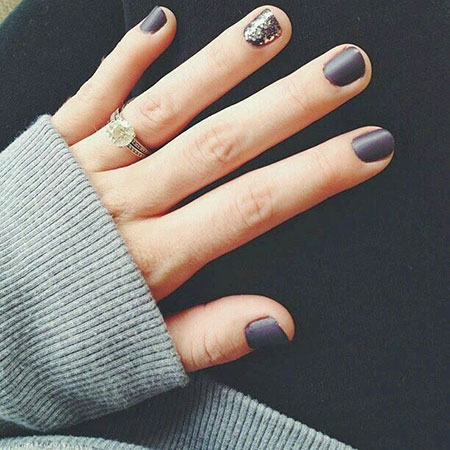 Short Manicure Ring Matte