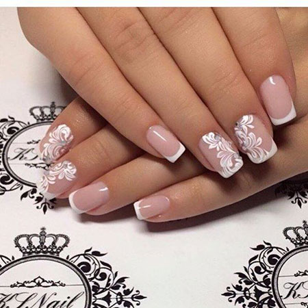 Wedding Simple Design Manicure