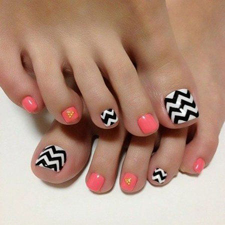 Toenail Painted Toe Paint