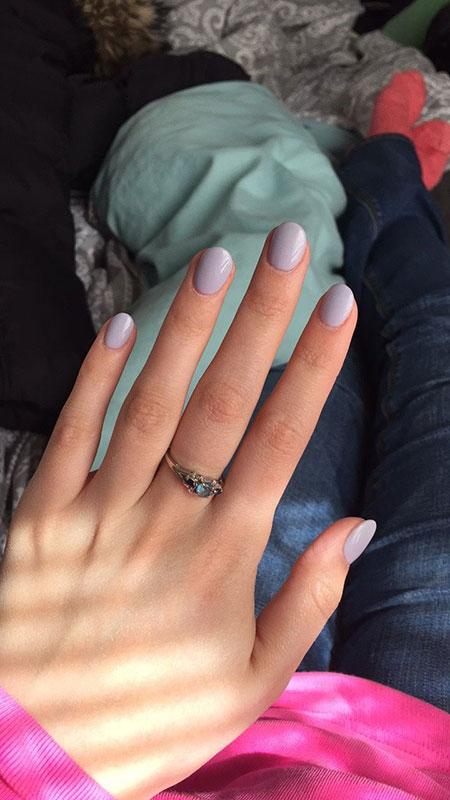 Acrylic Short Gel Manicure