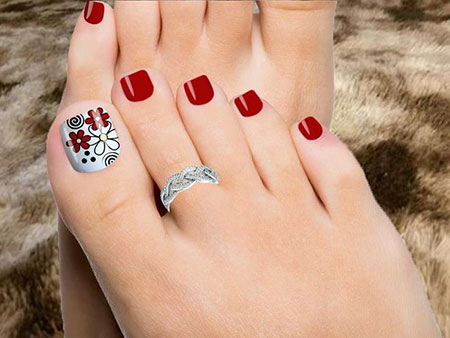 Toenails Cute Toenail Pedicures