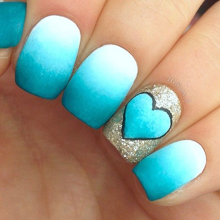 Short Ombre Simple Love