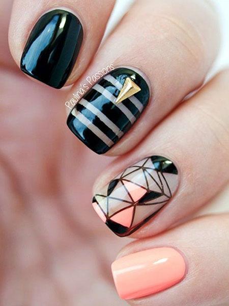 Short Neon Nails Design, Short Neon Design Best