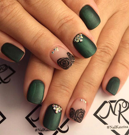 Short Manicure Design Classy