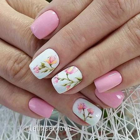 Flower Design Pink Light
