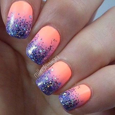 Glitter Purple Best Polish