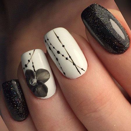 Manicure Design Matte White