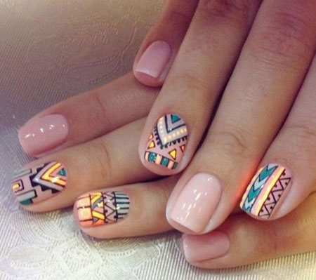 Tribal Short Manicure Jamberry