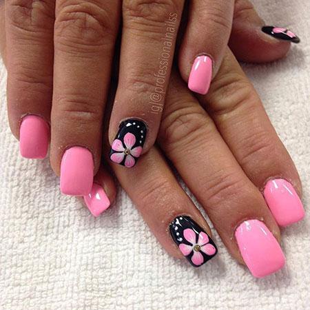 28 flower nail designs  nail art designs 2018