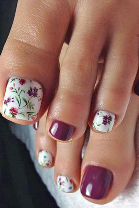 28 Flower Nail Designs Nail Art Designs 2018
