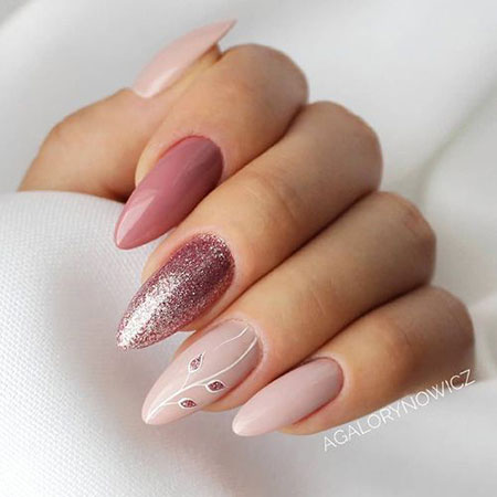 Super Trendy Pink Nails, Design Very Best Super