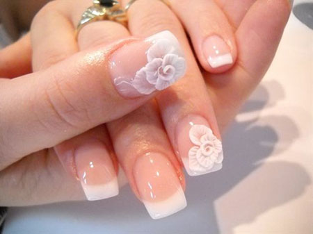Manicure Wedding French Day