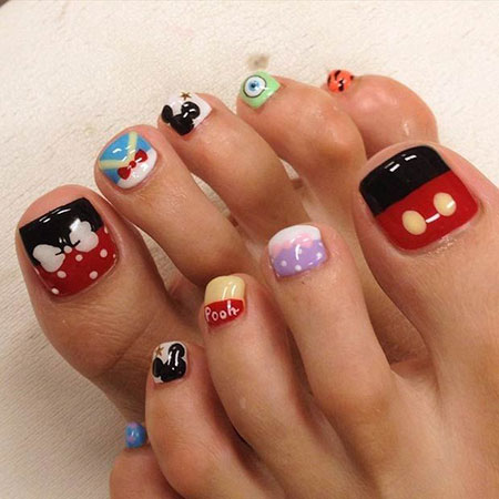 Toe Cute Disney Super