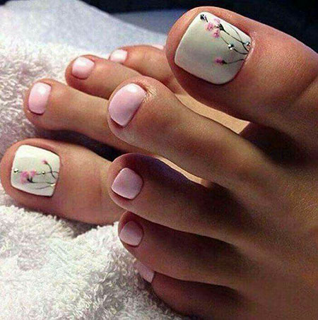2018 Toe Nail Design, Toe Pretty Pedicures Pedicura