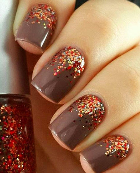 Fall Nail Art Idea, Fall Thanksgiving Cute Ideas