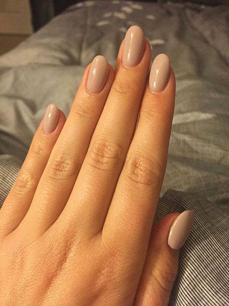 Natural Nail Shapes Manicure Acrylic