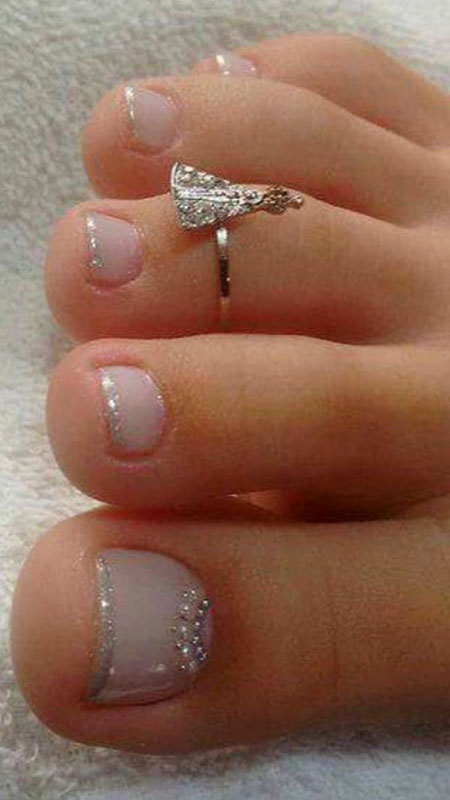 Toe Engagement Rings Silver