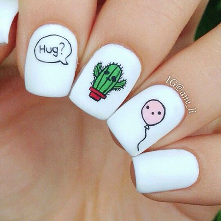 Ideas Cute Manicure Decals