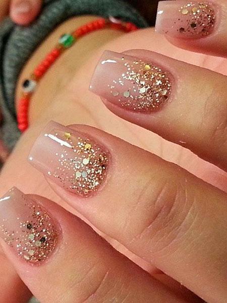 Manicure Glitter Pink Perfect