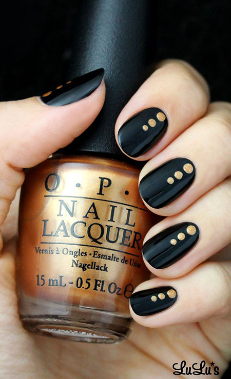 Polish Opi Las Gold
