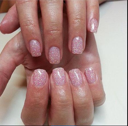 Pink Glitter Short Love