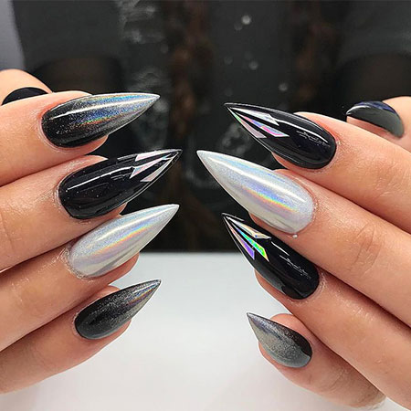 Stiletto Manicure Stilleto Acrylic