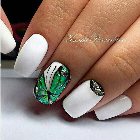 Manicure Дизайн Butterfly