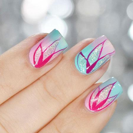 Spring Manicure Hello