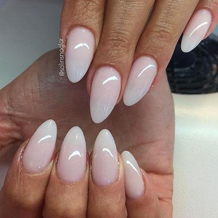 Manicure Pink Ombre Paznokcie