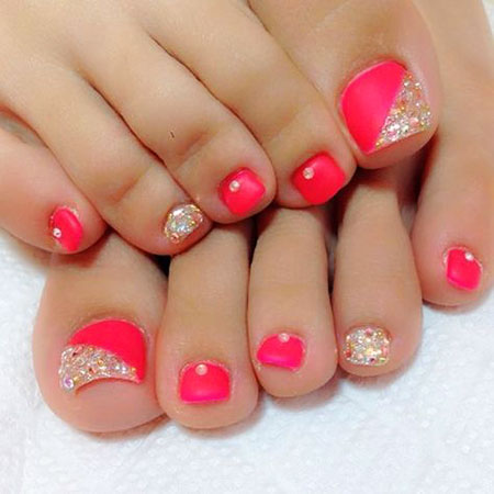 Toe Coral Love Toes