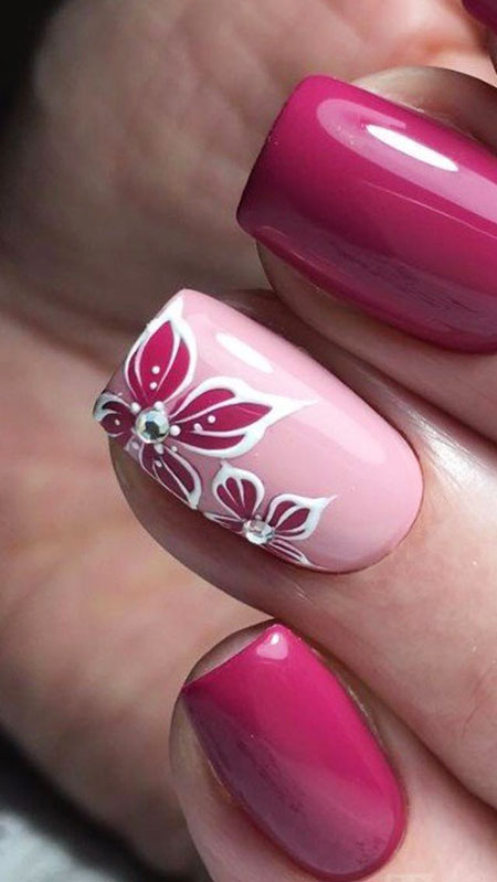 Manicure Rose Trend Style