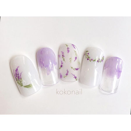Manicure Flowers Japanese Gel